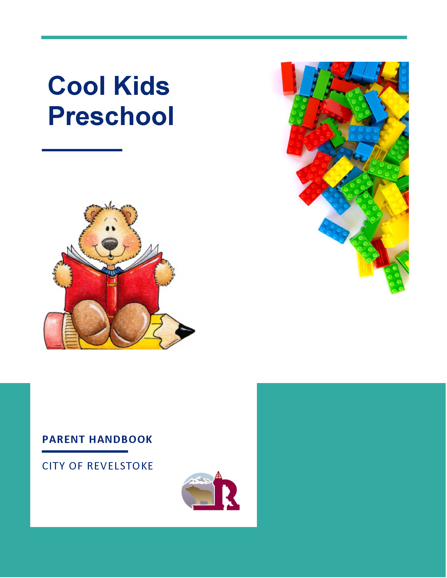 Parent Handbook Front Cover
