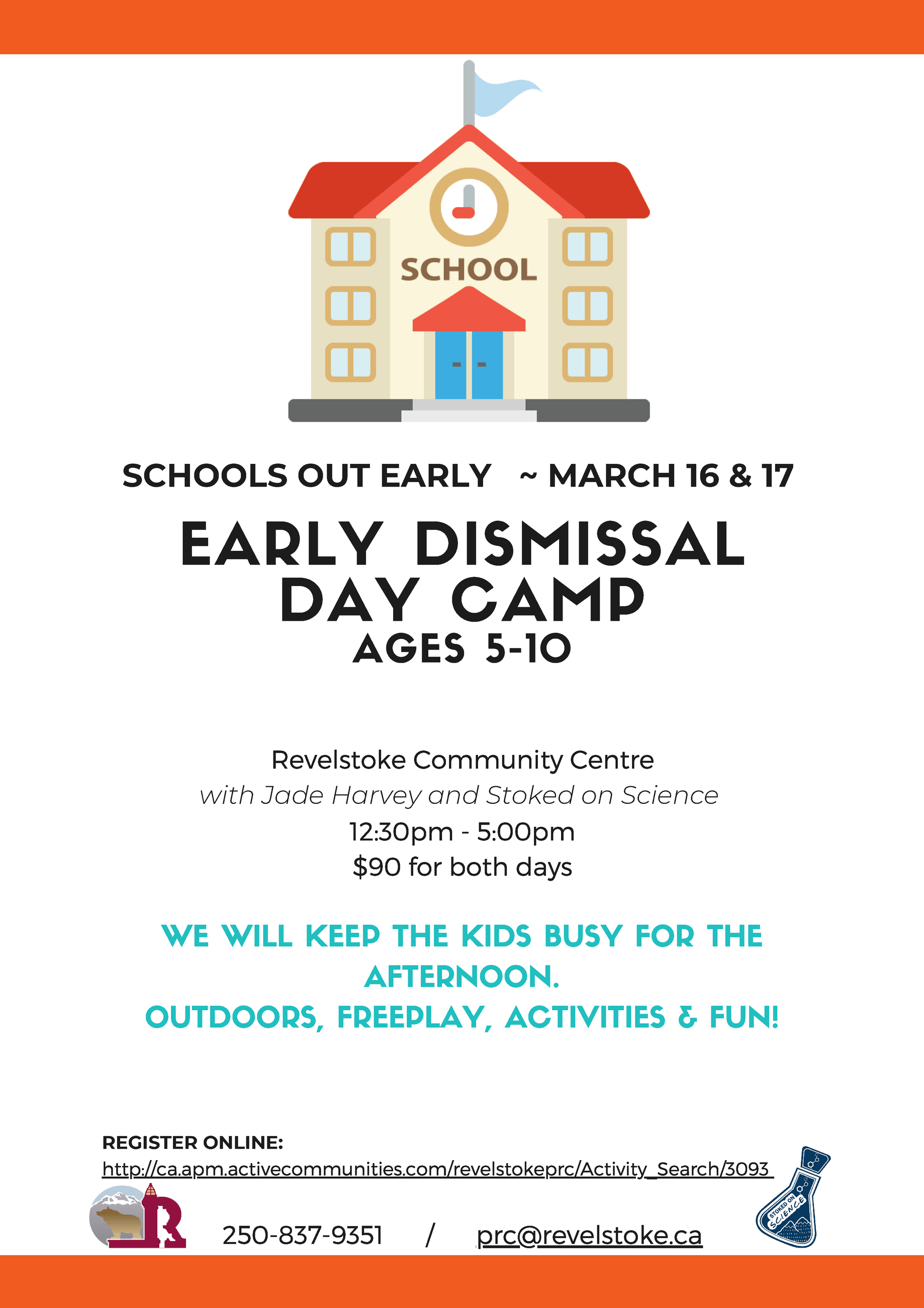 Early Dismissal Mar 16-17