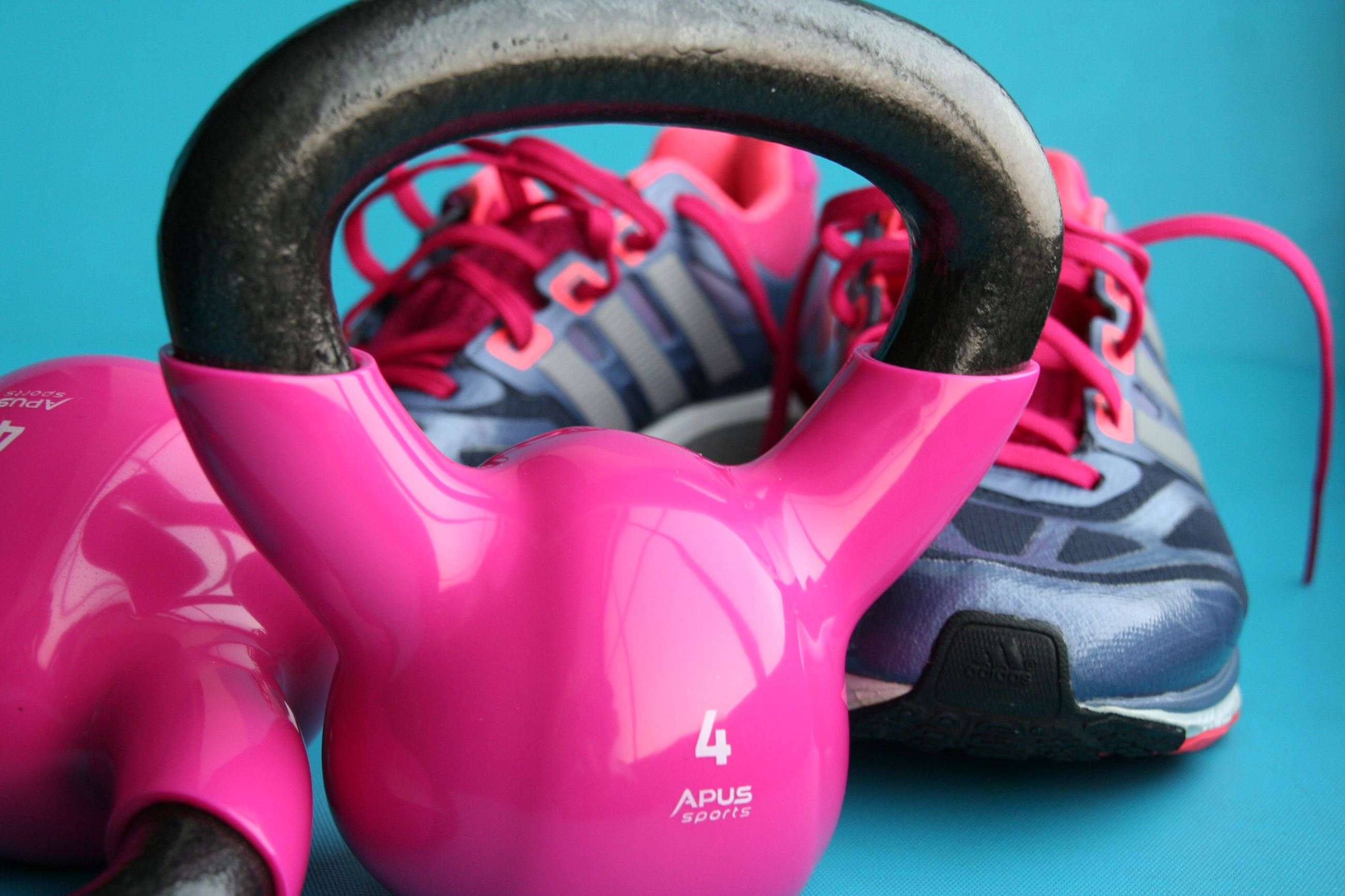 Fitness - Kettle Bell and Shoes