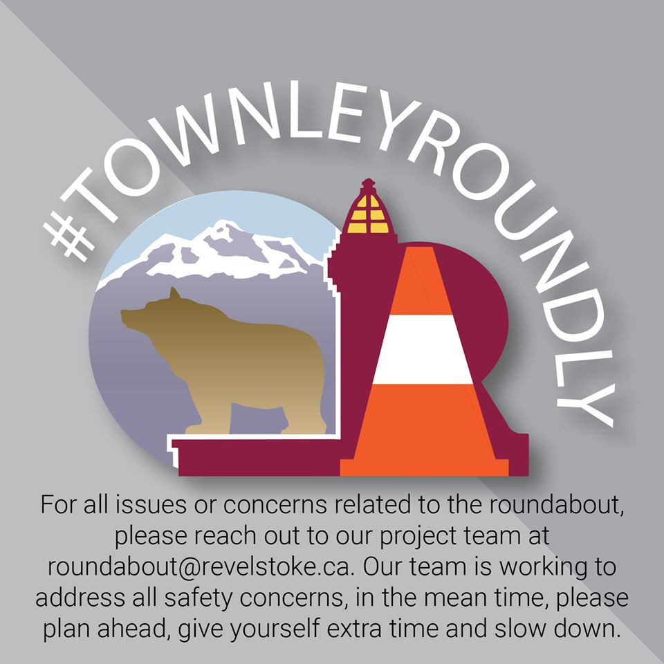 Roundabout Graphic with Email for Roundabout