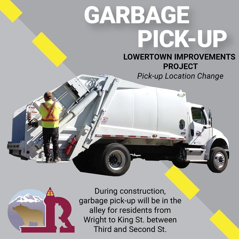 Garbage Pick-up Location Update - Lowertown Residents - 2020-06-04